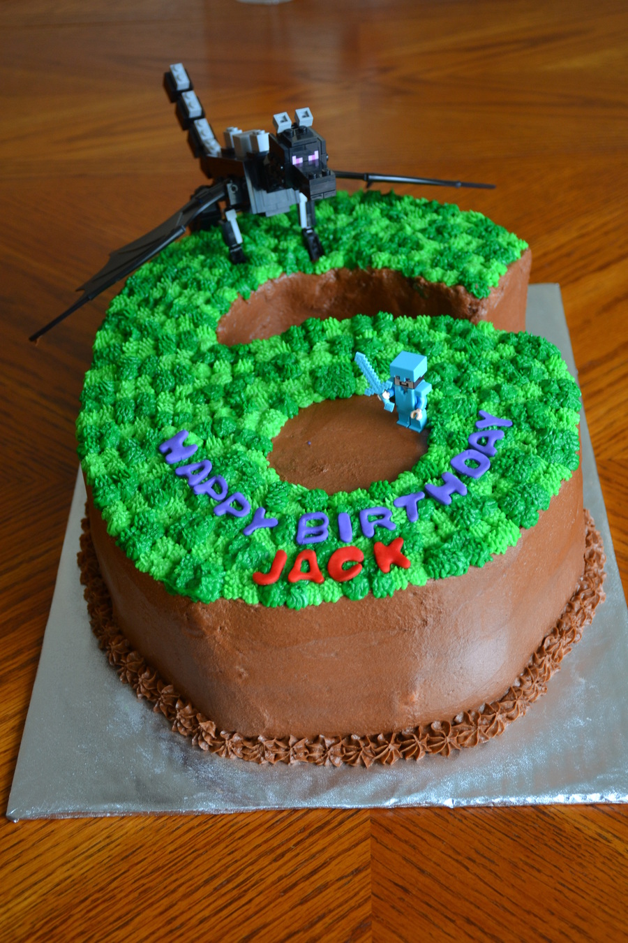 Minecraft 6 Birthday Cake How To Make