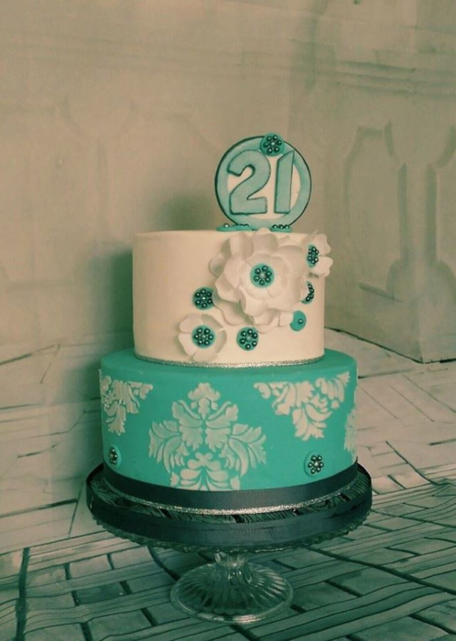 Classic Style 21st Birthday Ca How To Make